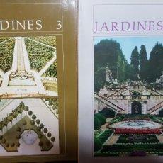 Libros antiguos: SECUENCIAS DE ARQUITECTURA Y CONSTRUCCIÓN: JARDINES 2, 3, 4 5 (1987, 1989, 1991 Y 1995). 4 REVISTAS.. Lote 154391010