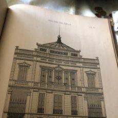Libros antiguos: ARQUITECTURA PRÁCTICA . ALBUM / JUAN CARPINELL, ED. TRILLA Y SERRA AÑOS SIGLOS XVLLL. Lote 155485214
