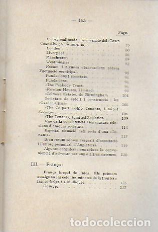 Libros antiguos: L habitació popular. Cases i hotels per a obrers, empleats i estudiants / X. Calderó. BCN, 1914. - Foto 5 - 156006446
