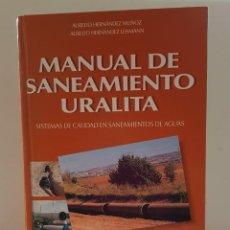 Libros antiguos: MANUAL DE SANEAMIENTO URALITA. Lote 156305346
