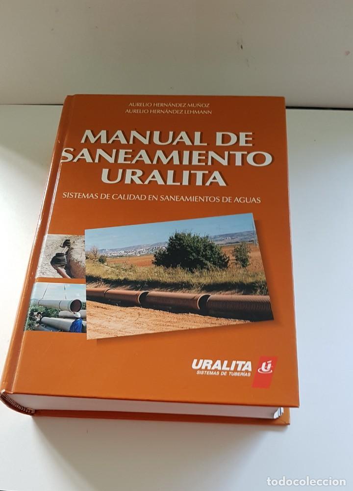 Libros antiguos: MANUAL DE SANEAMIENTO URALITA - Foto 2 - 156305346