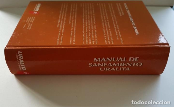 Libros antiguos: MANUAL DE SANEAMIENTO URALITA - Foto 3 - 156305346