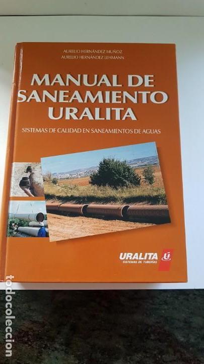 Libros antiguos: MANUAL DE SANEAMIENTO URALITA - Foto 9 - 156305346
