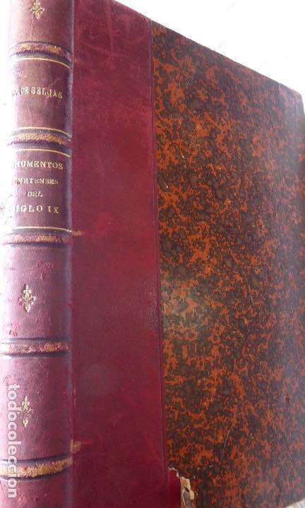 Libros antiguos: L-5305. MONUMENTOS OVETENSES DEL SIGLO IX. POR FORTUNATO DE SELGAS. AÑO 1908. EDICIÓN ORIGINAL. - Foto 2 - 156315718