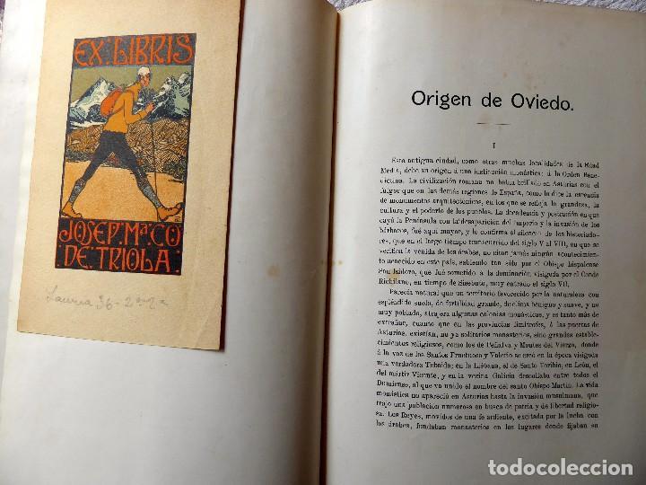 Libros antiguos: L-5305. MONUMENTOS OVETENSES DEL SIGLO IX. POR FORTUNATO DE SELGAS. AÑO 1908. EDICIÓN ORIGINAL. - Foto 4 - 156315718