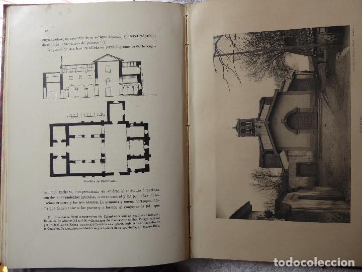 Libros antiguos: L-5305. MONUMENTOS OVETENSES DEL SIGLO IX. POR FORTUNATO DE SELGAS. AÑO 1908. EDICIÓN ORIGINAL. - Foto 8 - 156315718