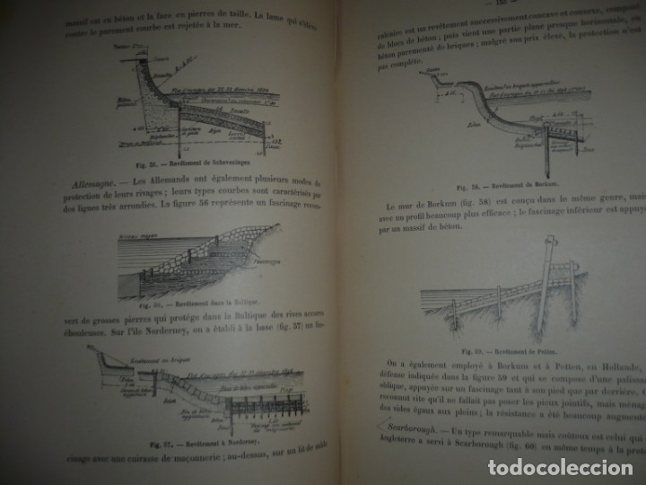 Libros antiguos: LES PORTS MODERNES C.DE CORDEMOY 1900 PARIS TOMO I-II - Foto 7 - 157554950
