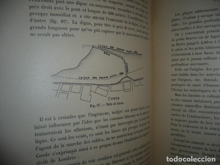 Libros antiguos: LES PORTS MODERNES C.DE CORDEMOY 1900 PARIS TOMO I-II - Foto 6 - 157554950