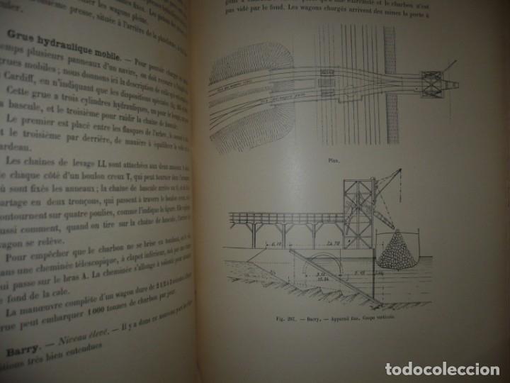 Libros antiguos: LES PORTS MODERNES C.DE CORDEMOY 1900 PARIS TOMO I-II - Foto 17 - 157554950