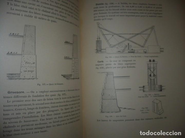 Libros antiguos: LES PORTS MODERNES C.DE CORDEMOY 1900 PARIS TOMO I-II - Foto 15 - 157554950