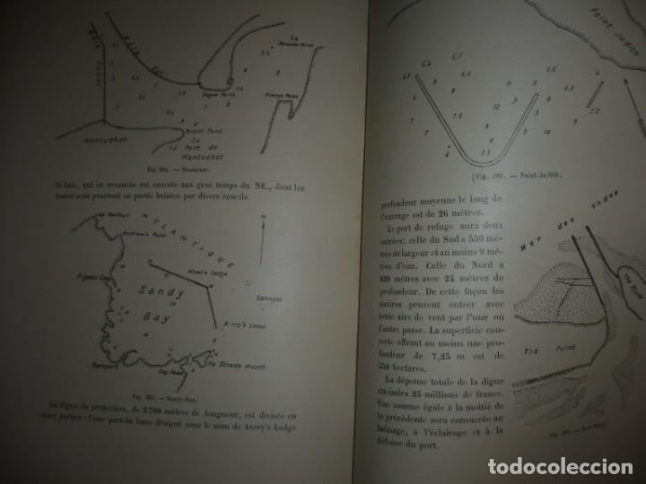 Libros antiguos: LES PORTS MODERNES C.DE CORDEMOY 1900 PARIS TOMO I-II - Foto 19 - 157554950