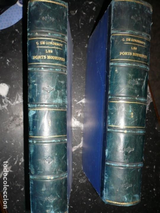 LES PORTS MODERNES C.DE CORDEMOY 1900 PARIS TOMO I-II (Libros Antiguos, Raros y Curiosos - Bellas artes, ocio y coleccion - Arquitectura)