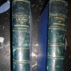 Libros antiguos: LES PORTS MODERNES C.DE CORDEMOY 1900 PARIS TOMO I-II. Lote 157554950