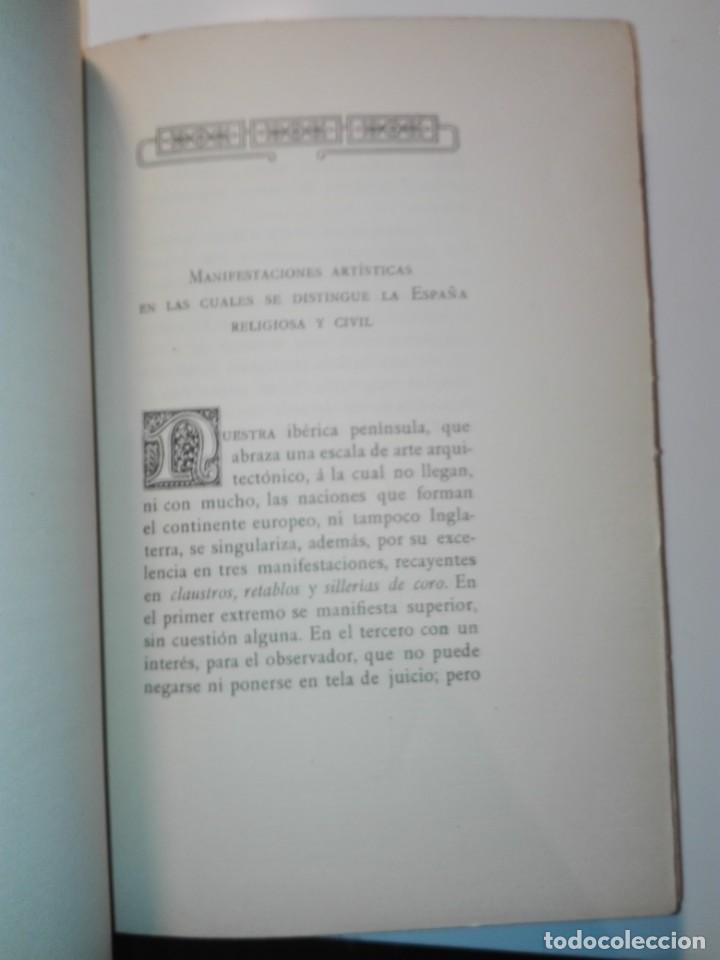 Libros antiguos: Las catedrales de España principales (románicas y góticas). Ricardo Benavent y Feliu. Valencia 1913 - Foto 4 - 159448466