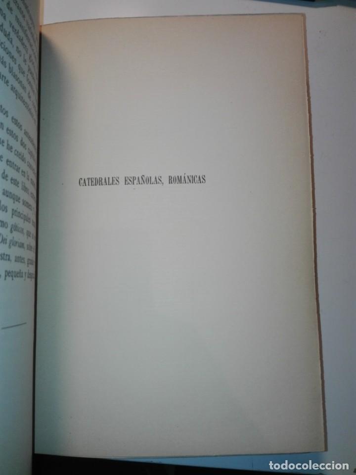 Libros antiguos: Las catedrales de España principales (románicas y góticas). Ricardo Benavent y Feliu. Valencia 1913 - Foto 5 - 159448466