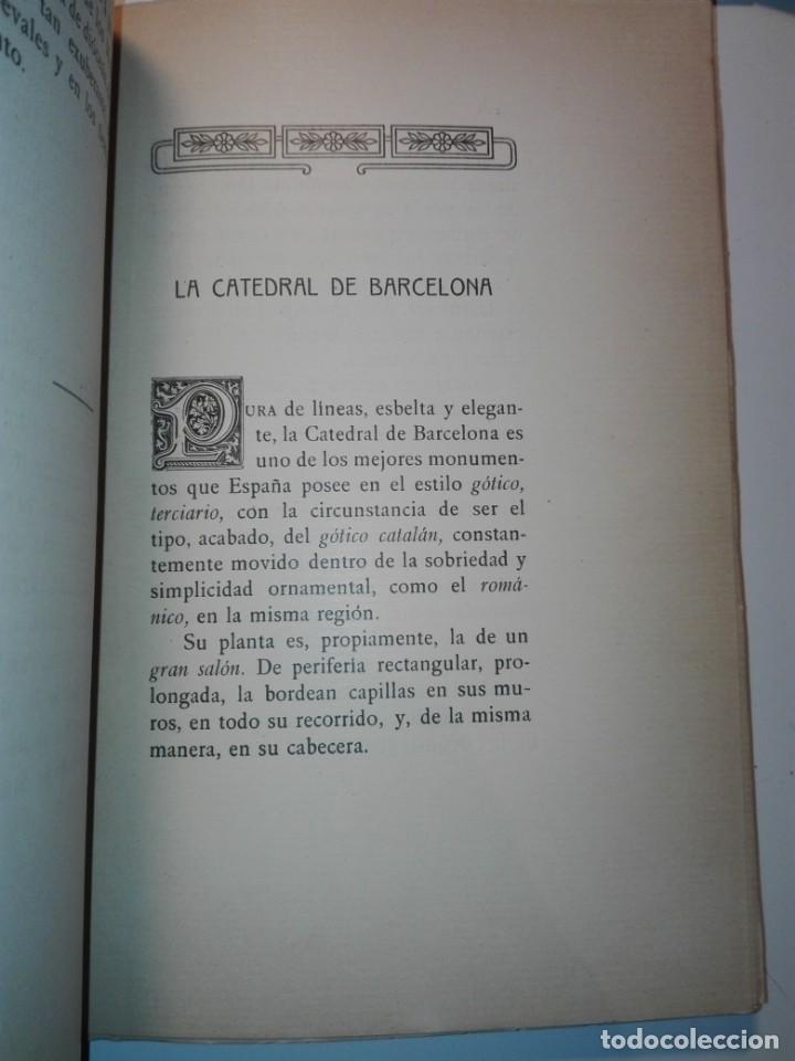 Libros antiguos: Las catedrales de España principales (románicas y góticas). Ricardo Benavent y Feliu. Valencia 1913 - Foto 7 - 159448466
