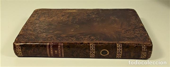 Libros antiguos: ORDENANZA DE INGENIERO. TOMO I. IMPRENTA REAL. MADRID. 1803. - Foto 3 - 160360570