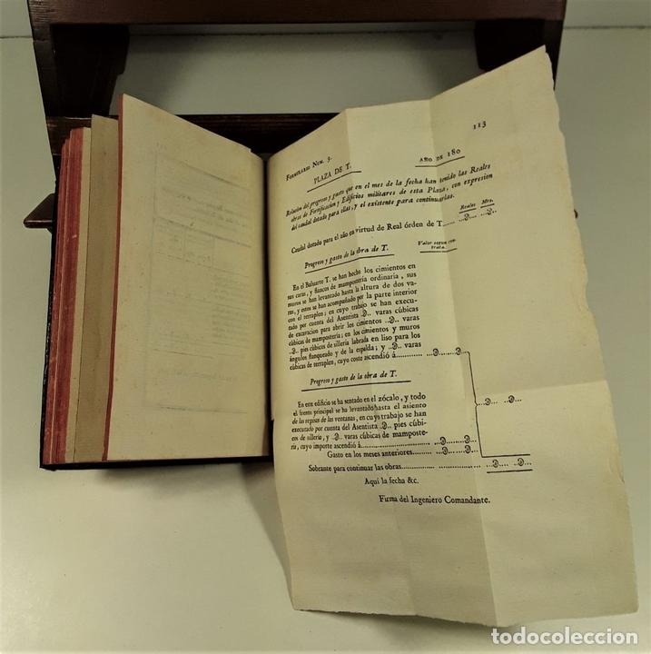 Libros antiguos: ORDENANZA DE INGENIERO. TOMO I. IMPRENTA REAL. MADRID. 1803. - Foto 5 - 160360570