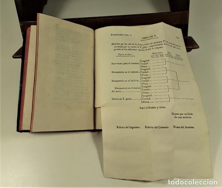 Libros antiguos: ORDENANZA DE INGENIERO. TOMO I. IMPRENTA REAL. MADRID. 1803. - Foto 6 - 160360570