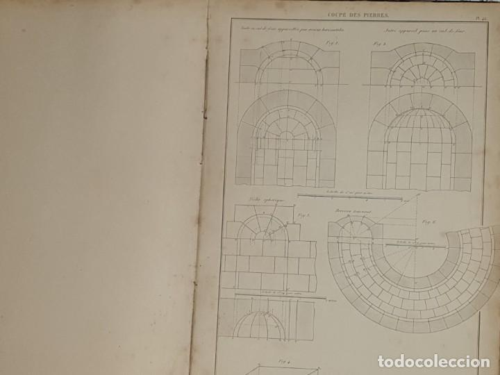Libros antiguos: TRAITE STEREOTOMIE . LES APPLICATIONS DE LA GEOMETRIE DESCRIPTIVE -1883 -LEROY - Foto 13 - 161153662