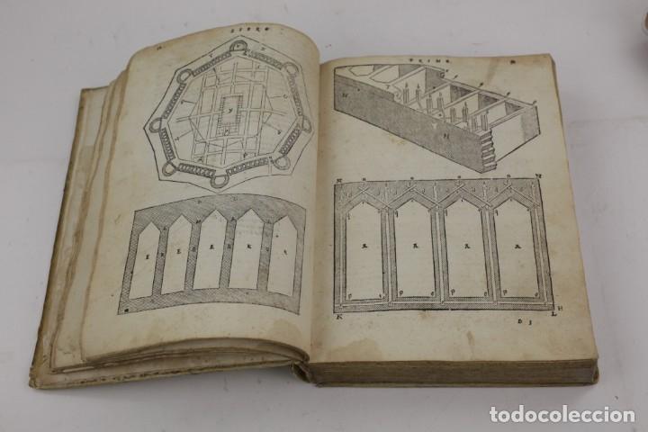 Libros antiguos: I dieci libri dellarchitettura di M. Vitruvio, 1585, restaurado, con grabados, Venetia. 25x18,5cm - Foto 11 - 161752058