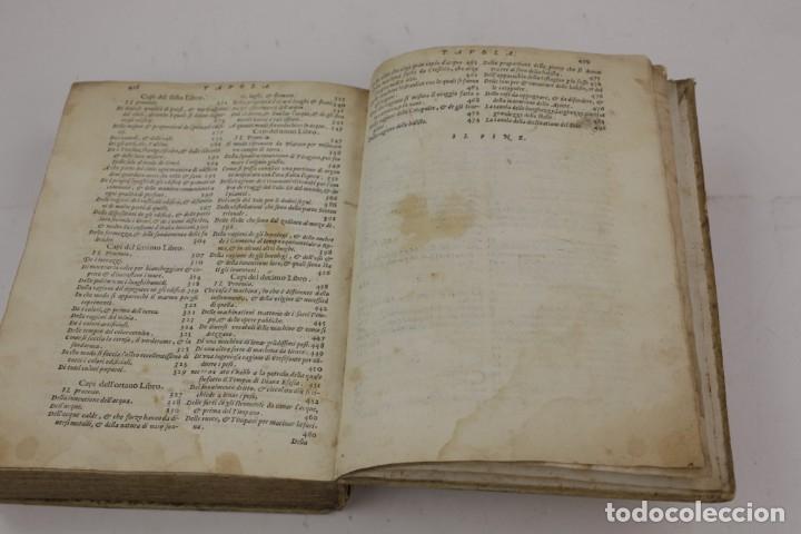 Libros antiguos: I dieci libri dellarchitettura di M. Vitruvio, 1585, restaurado, con grabados, Venetia. 25x18,5cm - Foto 17 - 161752058