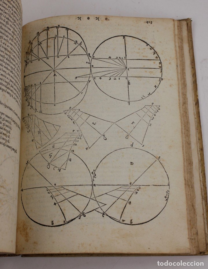 Libros antiguos: I dieci libri dellarchitettura di M. Vitruvio, 1585, restaurado, con grabados, Venetia. 25x18,5cm - Foto 21 - 161752058