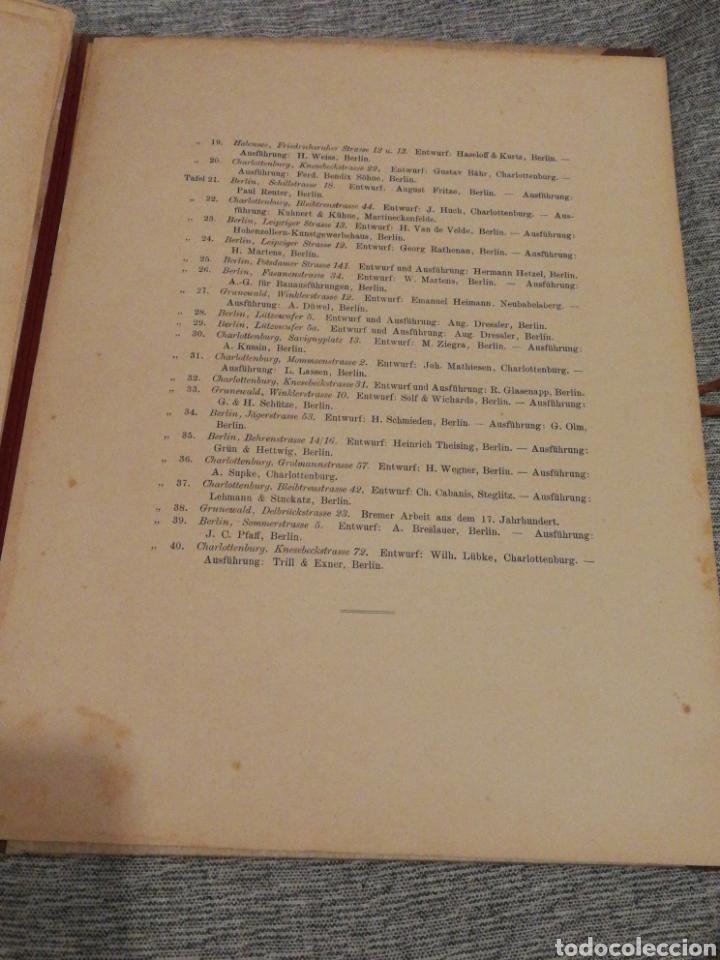 Libros antiguos: HAUSTHÜREN UND THORE- EGON HESSLING (40 LÁMINAS), ARQUITECTURA PUERTAS ENTRADA 1900s, J.M.FABRE.E. - Foto 12 - 162130685