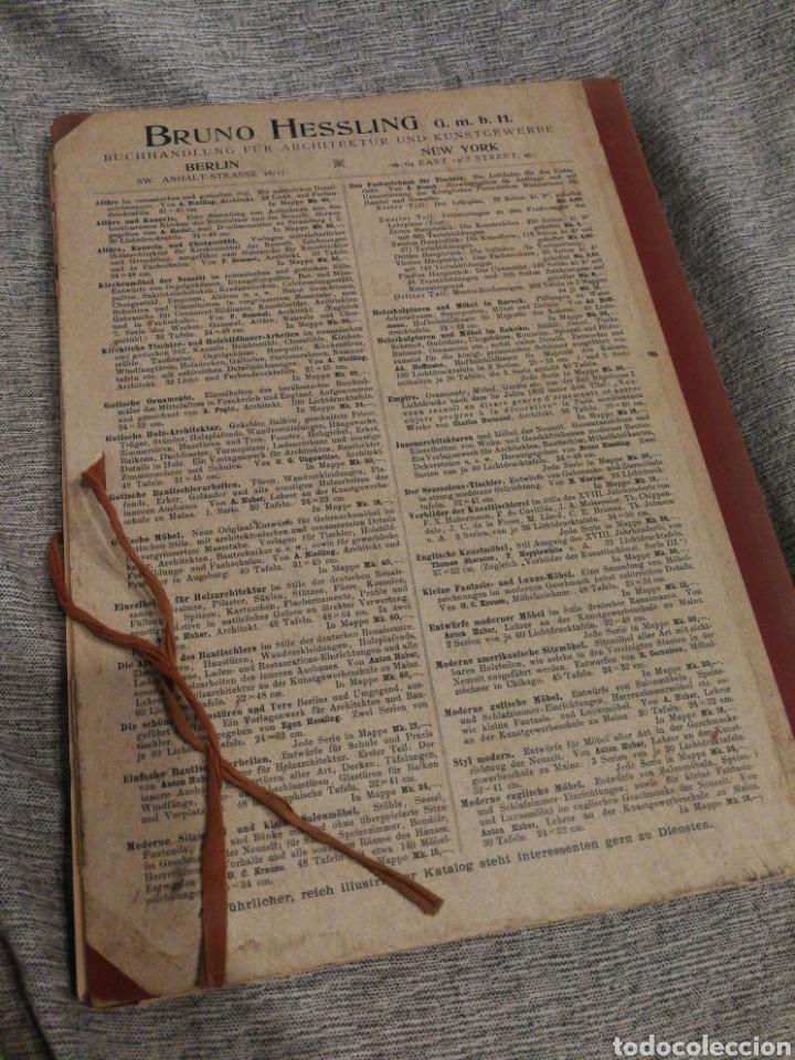 Libros antiguos: HAUSTHÜREN UND THORE- EGON HESSLING (40 LÁMINAS), ARQUITECTURA PUERTAS ENTRADA 1900s, J.M.FABRE.E. - Foto 13 - 162130685
