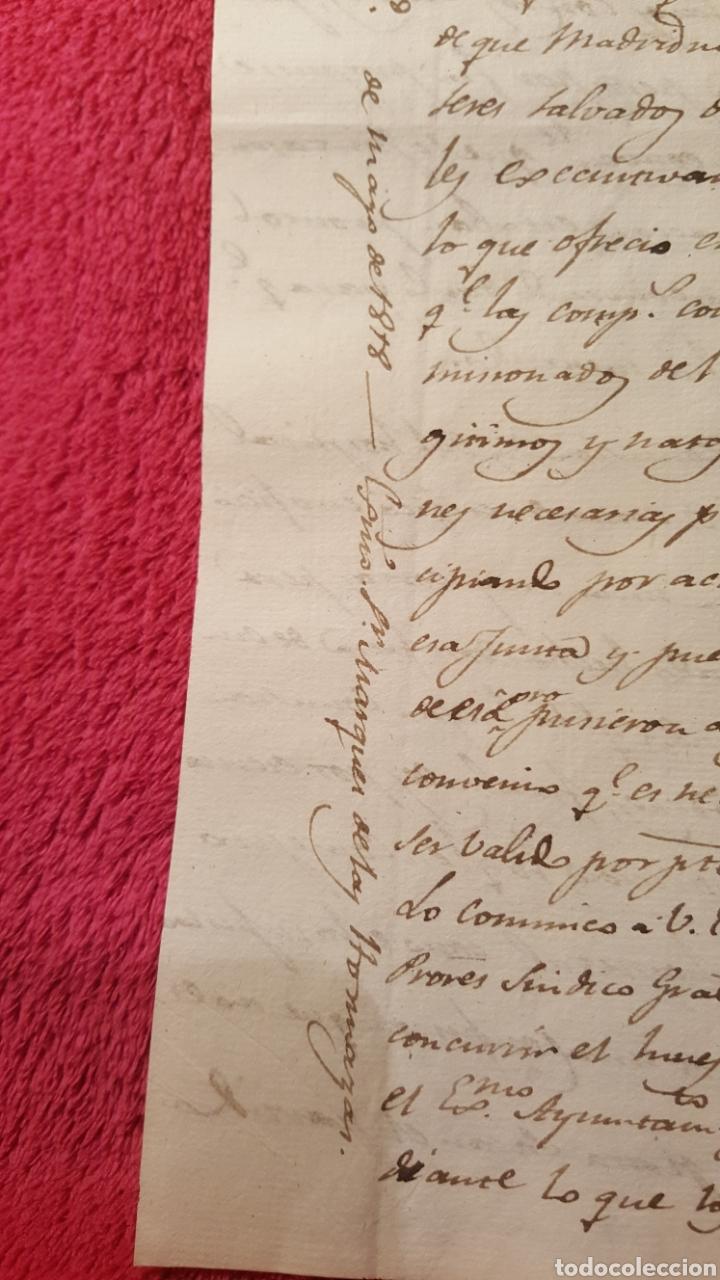 Libros antiguos: DOCUMENTOS SOBRE EL PROYECTO DE CONSTRUCCIÓN DEL TEATRO REAL DE MADRID. 1818 - Foto 8 - 165259617