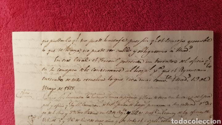 Libros antiguos: DOCUMENTOS SOBRE EL PROYECTO DE CONSTRUCCIÓN DEL TEATRO REAL DE MADRID. 1818 - Foto 9 - 165259617