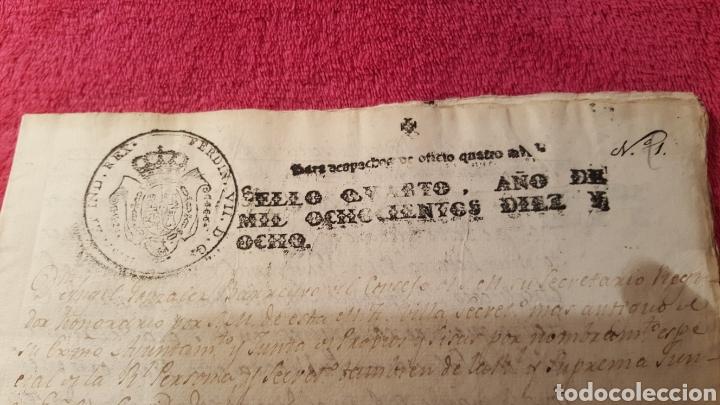 Libros antiguos: DOCUMENTOS SOBRE EL PROYECTO DE CONSTRUCCIÓN DEL TEATRO REAL DE MADRID. 1818 - Foto 11 - 165259617