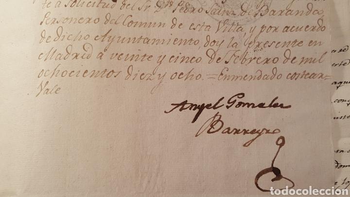 Libros antiguos: DOCUMENTOS SOBRE EL PROYECTO DE CONSTRUCCIÓN DEL TEATRO REAL DE MADRID. 1818 - Foto 20 - 165259617