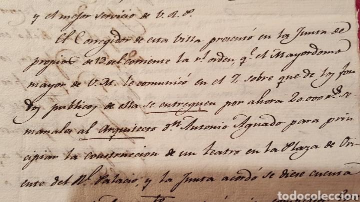 Libros antiguos: DOCUMENTOS SOBRE EL PROYECTO DE CONSTRUCCIÓN DEL TEATRO REAL DE MADRID. 1818 - Foto 22 - 165259617