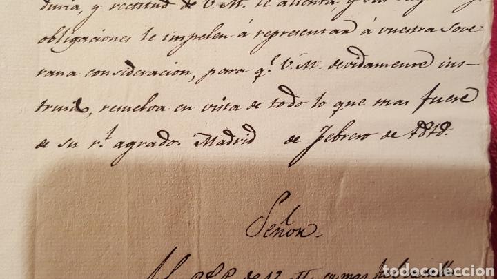 Libros antiguos: DOCUMENTOS SOBRE EL PROYECTO DE CONSTRUCCIÓN DEL TEATRO REAL DE MADRID. 1818 - Foto 28 - 165259617