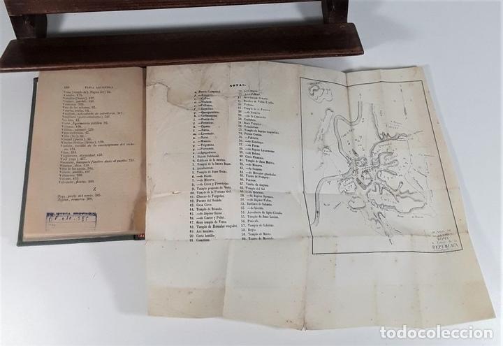 Libros antiguos: MANUAL DE ANTIGUEDADES ROMANAS. IMPRENTA IGNACIO BOIX. MADRID. 1845. - Foto 6 - 165627498