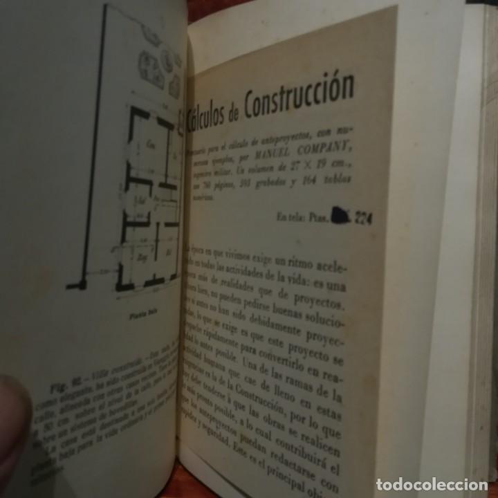 Libros antiguos: MODELOS DE EDIFICIOS ECONOMICOS--I. CASALI-GUSTAVO GILI--1926-MUY BUEN ESTADO - Foto 8 - 165727738