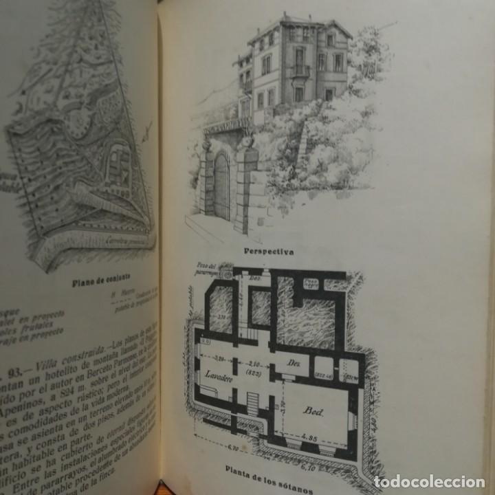 Libros antiguos: MODELOS DE EDIFICIOS ECONOMICOS--I. CASALI-GUSTAVO GILI--1926-MUY BUEN ESTADO - Foto 9 - 165727738