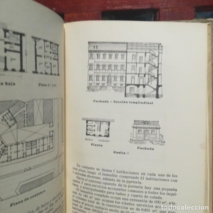 Libros antiguos: MODELOS DE EDIFICIOS ECONOMICOS--I. CASALI-GUSTAVO GILI--1926-MUY BUEN ESTADO - Foto 11 - 165727738