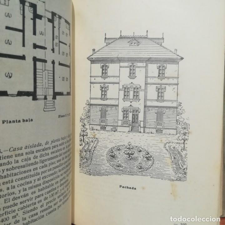 Libros antiguos: MODELOS DE EDIFICIOS ECONOMICOS--I. CASALI-GUSTAVO GILI--1926-MUY BUEN ESTADO - Foto 12 - 165727738