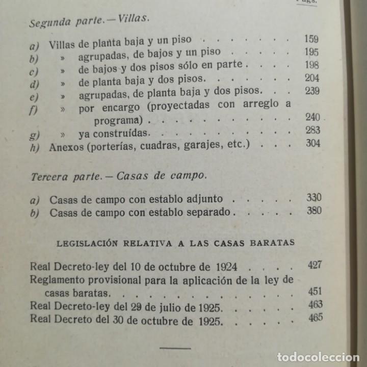 Libros antiguos: MODELOS DE EDIFICIOS ECONOMICOS--I. CASALI-GUSTAVO GILI--1926-MUY BUEN ESTADO - Foto 15 - 165727738