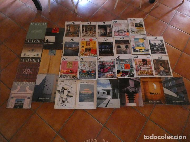 LOTE 28 REVISTAS ARQUITECTURA ESPAÑOLAS Y EXTRANJERAS CON NUMEROS 3 4 Y 6 ARCHITECTURAL DIGEST (Libros Antiguos, Raros y Curiosos - Bellas artes, ocio y coleccion - Arquitectura)