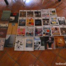 Libros antiguos: LOTE 28 REVISTAS ARQUITECTURA ESPAÑOLAS Y EXTRANJERAS CON NUMEROS 3 4 Y 6 ARCHITECTURAL DIGEST. Lote 176484645