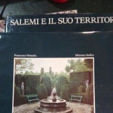 Libros antiguos: SALEMI E IL SUO TERRITORIO. F.VENEZIA. MIMMO JODICE.ELECTA. EN ITALIANO. Lote 166601094