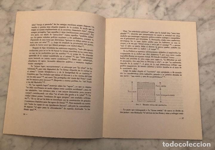 Libros antiguos: La ciudad ideal de Aristóteles-RABASF-LCV(13€) - Foto 2 - 166702026