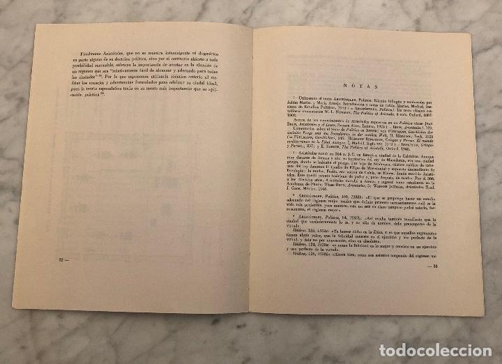 Libros antiguos: La ciudad ideal de Aristóteles-RABASF-LCV(13€) - Foto 4 - 166702026