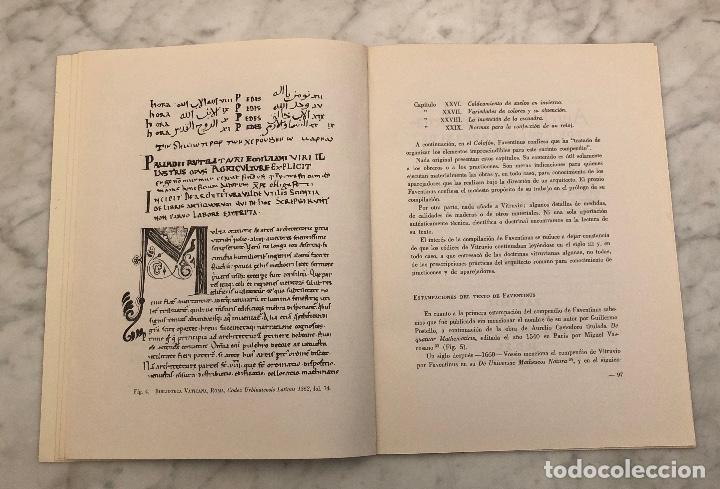 Libros antiguos: La modesta compilación Vitruviana de Cetius Faventinus-LCV(13€) - Foto 4 - 166702178