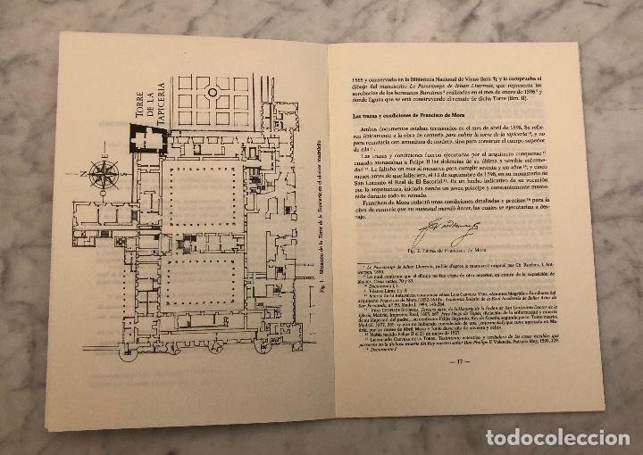 Libros antiguos: Francisco de Mora remata en 1598 la torre de la tapicería del Alcazar madrileño-IEMF -LCV(13€) - Foto 2 - 166717342