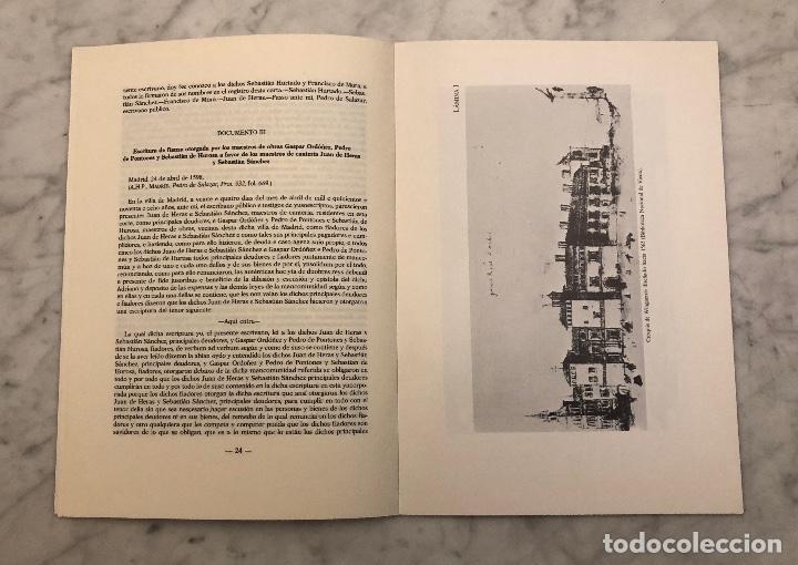 Libros antiguos: Francisco de Mora remata en 1598 la torre de la tapicería del Alcazar madrileño-IEMF -LCV(13€) - Foto 4 - 166717342