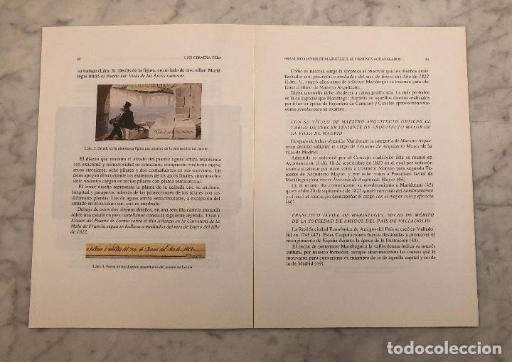 Libros antiguos: FranciscoJavierdeMaríategui.susdiseñosacuareladosdelpuentemediovalde Lerma y otros trabajos-LCV(13€) - Foto 2 - 166717522